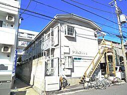 千葉県市川市富浜3丁目の賃貸アパートの外観