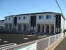 ハッピークローバーB棟[107号室]の外観