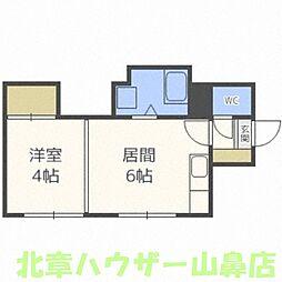 第2マンションポプラ[2階]の間取り