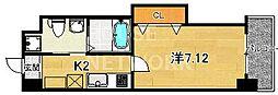 HF四条河原町レジデンス[601号室号室]の間取り