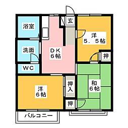 ホワイトタウン21 C棟[1階]の間取り