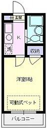 エマーユ川越東田町[101号室号室]の間取り