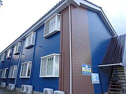 新潟県新潟市西区五十嵐2の町の賃貸アパートの外観