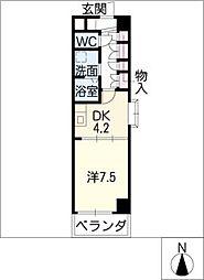 FOUR LEAVES前田[8階]の間取り