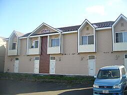 北海道札幌市清田区平岡五条3丁目の賃貸アパートの外観