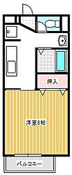 aurora shimada(川中島町御厨)[202号室号室]の間取り