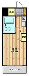 ウィンベルソロ西武球場第二[106(生活保護受給者支援)号室]の間取り