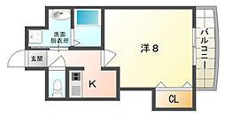 Hommage A[4階]の間取り