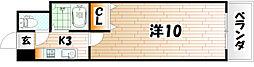 No.35 サーファーズプロジェクト2100小倉駅[4階]の間取り