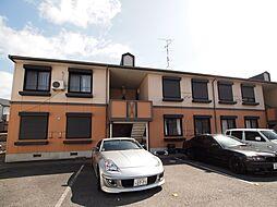 奈良県大和郡山市箕山町の賃貸アパートの外観