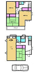 [一戸建] 埼玉県鶴ヶ島市大字藤金 の賃貸【/】の間取り