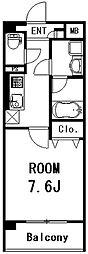 エクセルコート[302号室]の間取り