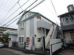 静岡県静岡市駿河区八幡5丁目の賃貸アパートの外観