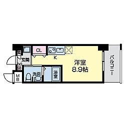 グレンパーク江坂II[0403号室]の間取り