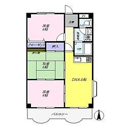 プライムマンション[202号室]の間取り