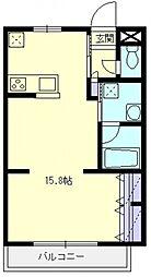 ランドール坂戸[102号室号室]の間取り