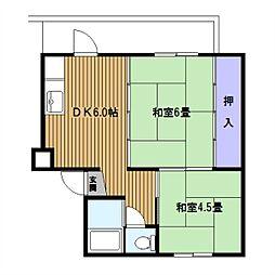 東本郷[4F号室]の間取り