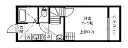 クローバーハウスIII[2階]の間取り
