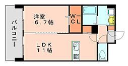 ベントデラフォレスタ[2階]の間取り