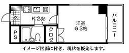センテニアル横川--[503号室]の間取り