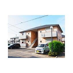 茨城県つくばみらい市筒戸の賃貸アパートの外観