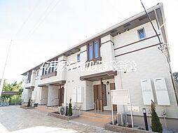東京都町田市山崎町の賃貸アパートの外観