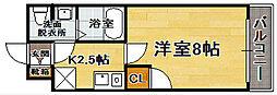 アクアシティ博多[9階]の間取り
