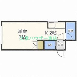 JPコート元町西[2階]の間取り