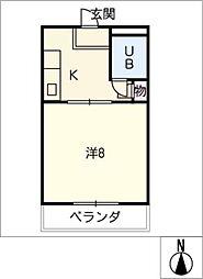 コーポラスN[3階]の間取り