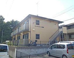 神奈川県横浜市都筑区東方町の賃貸アパートの外観
