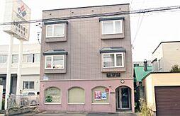 北海道札幌市中央区北二条西23丁目の賃貸アパートの外観