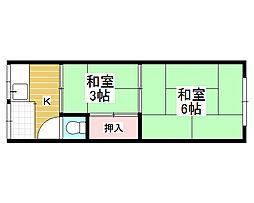 七道駅 1.9万円