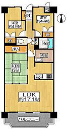 マンション(八尾南駅からバス利用、3LDK、1,180万円)