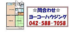 東京都あきる野市山田の賃貸マンションの間取り