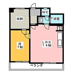 Opus4[3階]の間取り