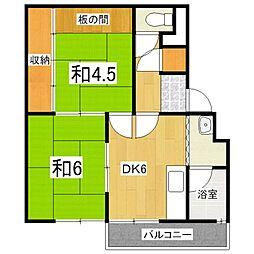 KIYOUSOU[2階]の間取り