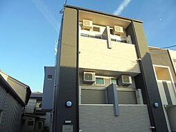 愛知県名古屋市中村区中村中町1丁目の賃貸アパートの外観