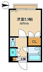 サーブ杉崎[2階]の間取り