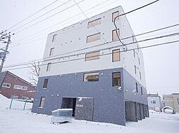 北海道札幌市西区西野三条8丁目の賃貸マンションの外観