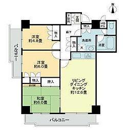 ライオンズマンション三番町[904 号室号室]の間取り
