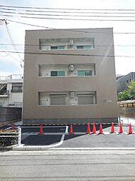 兵庫県尼崎市東園田町9丁目の賃貸アパートの外観