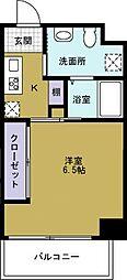 JJ COURT市岡元町[2階]の間取り