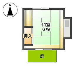 船山荘[1階]の間取り