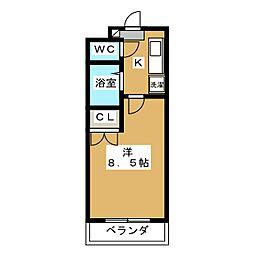 グランドールワタナベII[5階]の間取り