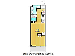 愛知県名古屋市千種区東山通2丁目の賃貸マンションの間取り