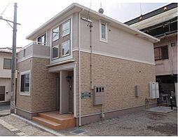 長野県松本市深志2丁目の賃貸アパートの外観