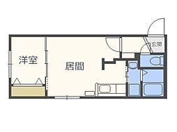 仮)北5西13MS A棟[5階]の間取り