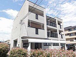 京都府京都市西京区牛ケ瀬西柿町の賃貸マンションの外観