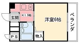 辻マンション[201号室]の間取り
