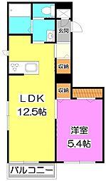 (新築)朝霞市根岸台1丁目シャーメゾン[2階]の間取り